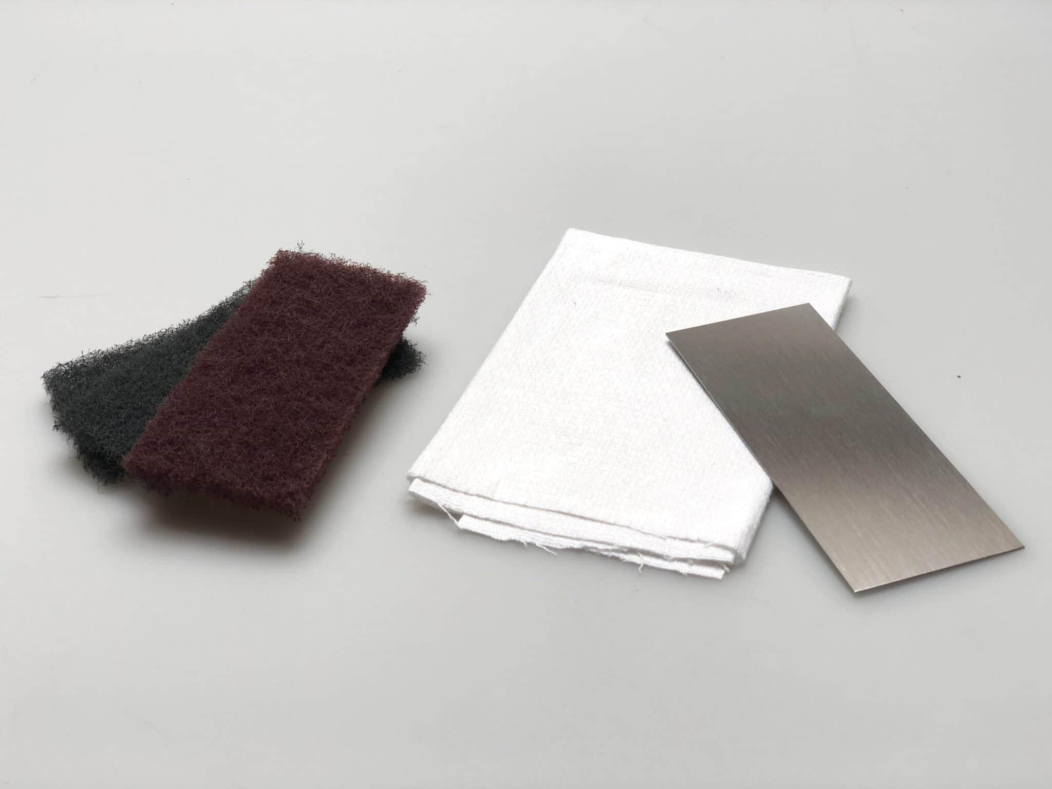 tissu de polissage, lame lisse, tissu de nettoyage